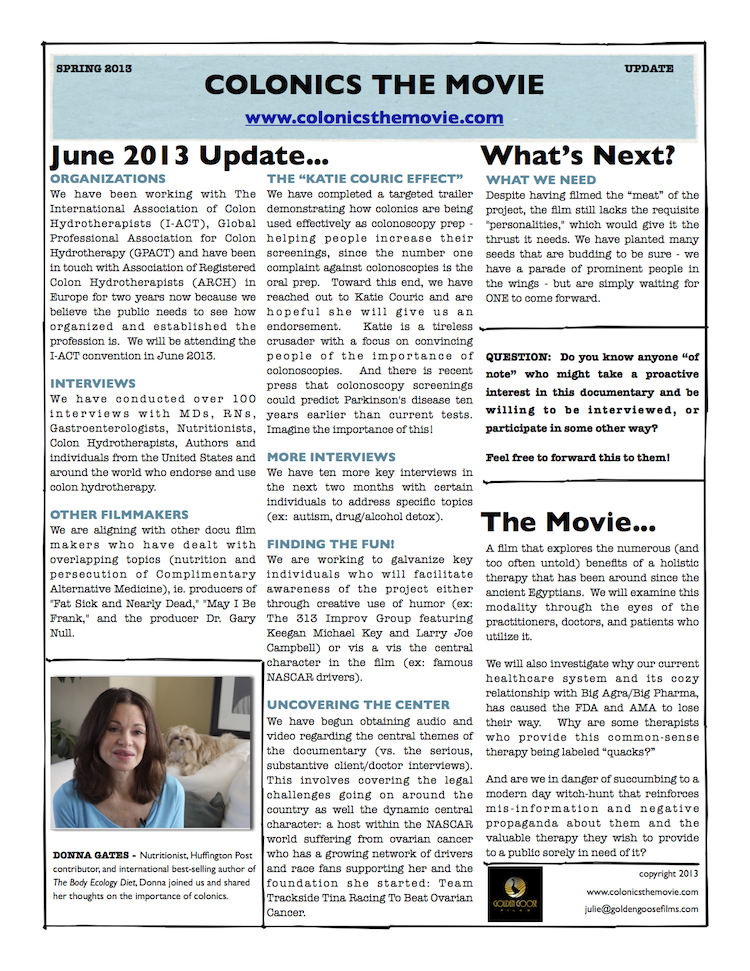 Colonics newsletter Spring 2013_smaller