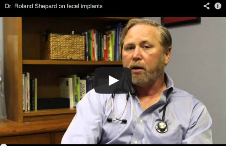 Dr. Roland Shepard on Fecal Implants